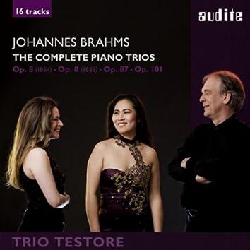 Johannes Brahms: The Complete Piano Trios (Piano Trio No. 1 in B Major, Op. 8 - versions from 1889 & 1854, Piano Trio No. 2 in C Major, Op. 87 & Piano Trio No. 3 in C Minor, Op. 101)