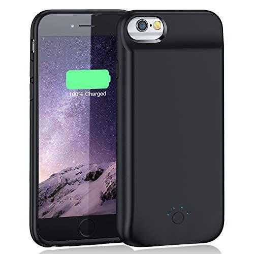 EMNT Akku Hülle für iPhone 6 Plus /6s Plus/7 Plus/8 Plus-【8500mAh】 Tragbare Zusatzakku Ladehülle Handyhülle Akku Battery Case Powerbank Hülle für iPhone iPhone 8Plus/7Plus/6s Plus/6Plus[5.5 Zoll]