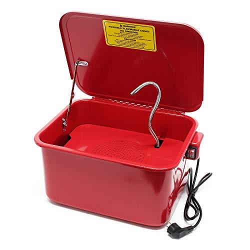 Teilereiniger Teilewaschbecken Teilewäscher Teile Wanne Waschgerät Waschbecken 13L mit Pumpe