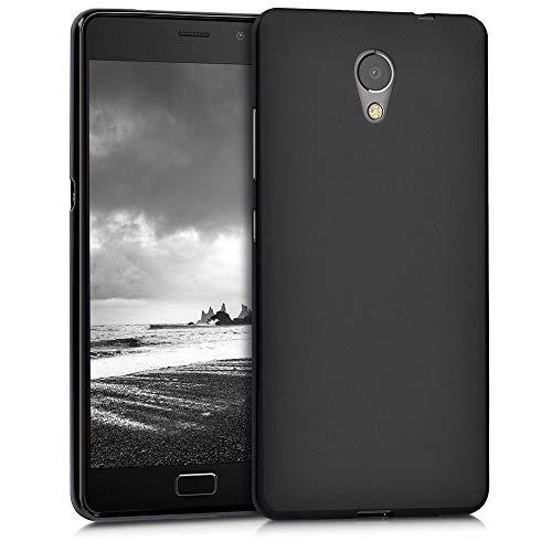 kwmobile Hülle kompatibel mit Lenovo P2 - Handyhülle - Handy Hülle in Schwarz matt