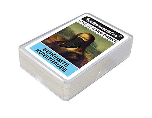 Berühmte Kunstraube Kartenspiel - Vom Kunstraub der Mona Lisa bis Van Gogh