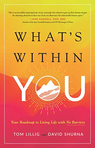 What's Within You: Your Roadmap to Living Life With No Barriers