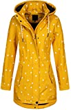 Top Fuel Fashion Damen Softshell-Kurzmantel IVANA - yello dots