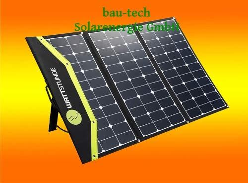 SunFolder 180Watt 12Volt Solartasche für Wohnmobil Garten Freizeit