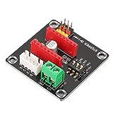 Simlug 3DプリンターステッピングモータードライバーDRV8825 A4988 42 Arduino UNO R3 DIYキット用ステッパーモータードライバー制御拡張ボードシールドモジュール