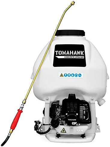 Clearance Max 75% OFF SALE Limited time Tomahawk 6.5 Gal Motorized Backpack Concrete Wand Sprayer a with
