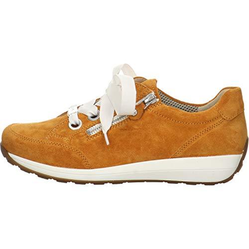 ARA Damen LISSABON Sneaker, BLAU,Navy/Silber