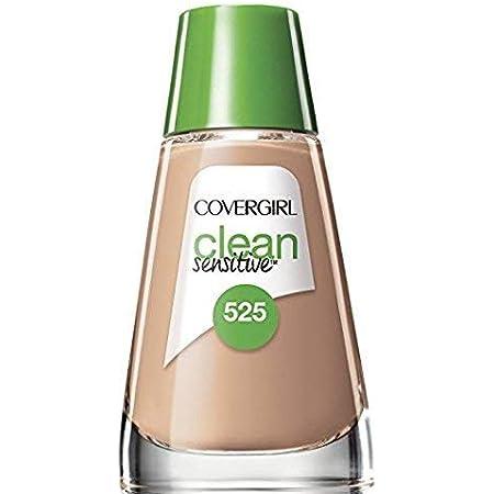 COVERGIRL Clean Sensitive Skin Foundation Buff Beige - 525 (2 Pack)
