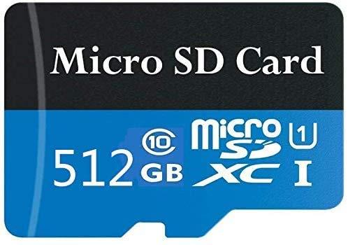Tarjeta de memoria Micro SD de alta velocidad de 512 GB con adaptador SD Free