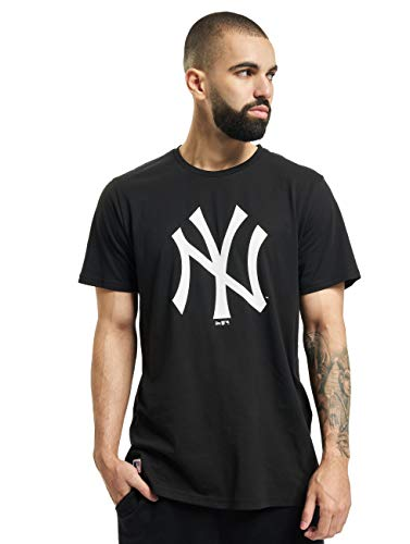 New Era Team Logo tee NEYYAN BLK, Negro (Black), l