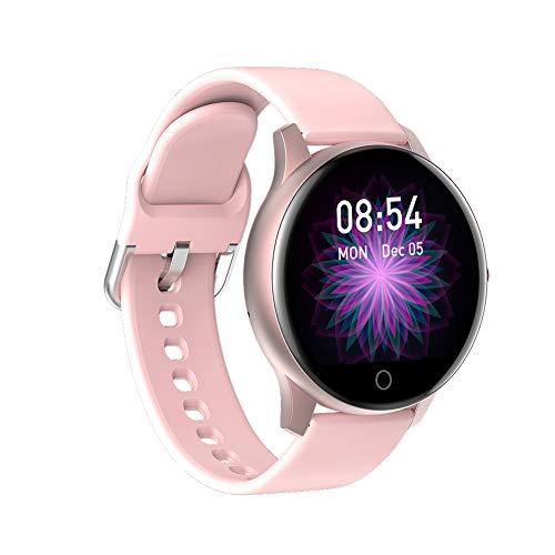 FUNBS Multifunktions-Smartwatch, schöne Armbanduhr, hochwertige Uhr, Outdoor-Sportuhr Freunde oder Familie-LightPink