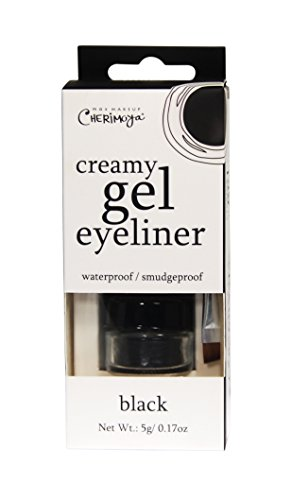 Max Makeup Cherimoya Creamy Gel Eyeliner, Black and White by Max Makeup Cherimoya