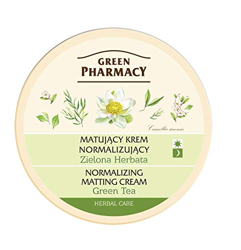 Green Pharmacy mattierende Creme grüne Tee 150ml