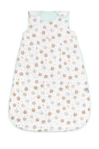 Saco de dormir de verano para bebé Slumbersac 1.0 Tog AOP Búho 0-6 meses/70cm