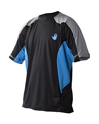 Body Glove T-Shirt à Manches Courtes pour Homme - Coupe Ample - Bleu/Noir - Taille S