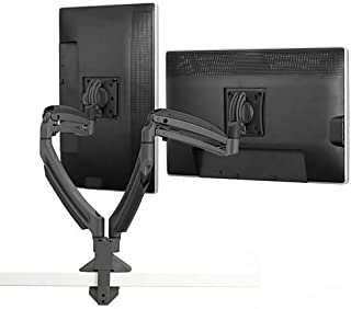 K1220D Dual Display Swingarm Mount/Stand for Mounting 2 LCD Monitors up to 30