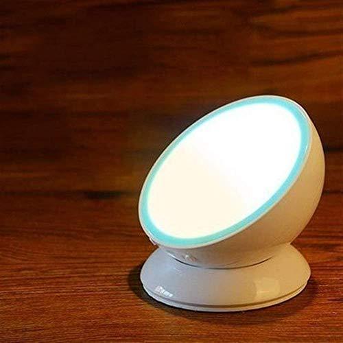 WEM Decoración de Pared Luces de Pared, Luz Blanca Luz de Pared de Inducción Del Cuerpo Humano Enchufe Usb Dormitorio Luz de Pared para el Hogar Control de Sonido Armario de Noche Luz de Noche Tamaño