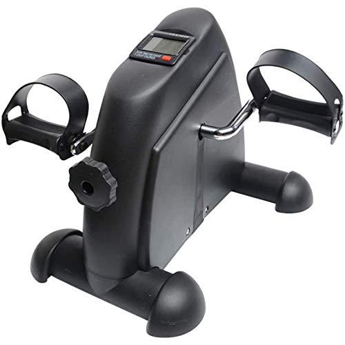 Mini-hometrainer Indoor Fitness Fietspedaaltrainer met LCD-scherm, Huishoudelijke fitnessapparatuur voor ouderen Boven- en onderbenen Revalidatietrainer