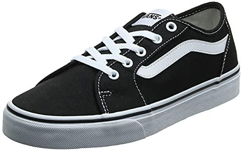 Vans Filmore Decon, Zapatillas para Mujer, Negro (Black/True White 1wx), 36 EU