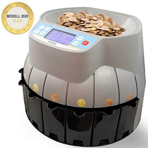 elektronischer Münzzähler automatische Münzzählmaschine EURO Münzsortierter Geldzähler Geldzählmaschine Münzen
