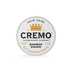 Cremo Barber Grade Dry Shampoo Paste, Refreshes Hair Without Water, 4 Oz 7