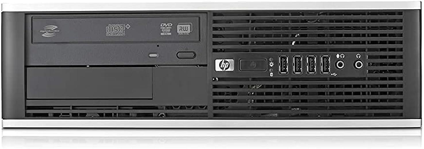 (Renewed) HP Elitedesk Desktop PC - Intel Core i5 2400   16GB RAM   1TB HDD   120 GB SSD   Windows 10 & MS Office - Refurbay Certified