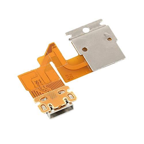 Lorenlli para Sony Xperia Tablet Z SGP311 SGP312 SGP321 Flex Cabel Cable de Puerto de Conector de Carga USB