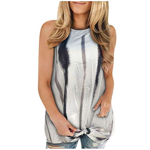 Women's Color Block Tie-Dye T-Shirt Patchwork Crew-Neck Casual Plus Size Tops Gray