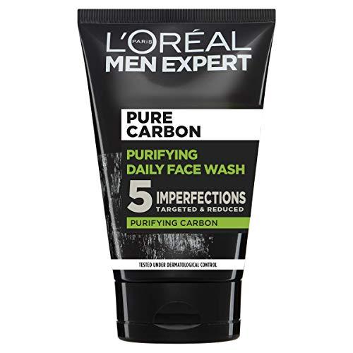 L'Oréal Paris Men Expert Face Wash Pure Charcoal Blackhead Cleanser for...
