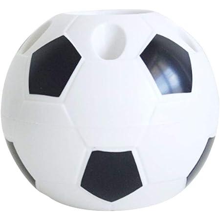 Organisateur de bureau multifonction en forme de ballon de football pour stylos, crayons, fournitures de bureau, boîte de rangement en plastique pour outils de maquillage