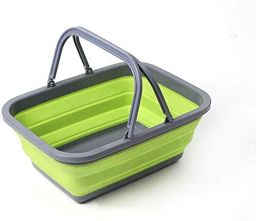 lyf Faltbares Waschbecken, tragbares zusammenklappbares Waschbecken, tragbares Waschbecken, Campingküche Kunststoff-Waschbecken, Waschbecken
