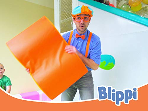 Blippi Visits an Indoor Playground (Giggle Jungle) - Videos for Toddlers