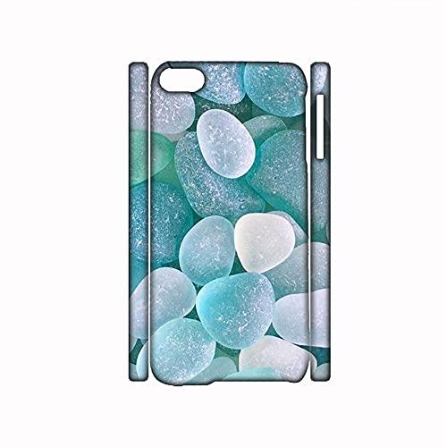 Compatible con Apple iPhone 7 8 4.7 Inch Hombres Único Teléfono Shell Pc con Beautiful Cobblestone 1