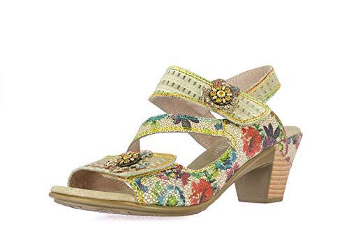 sandales - nu pieds laura vita 2378 becttinoo 239 vert 39