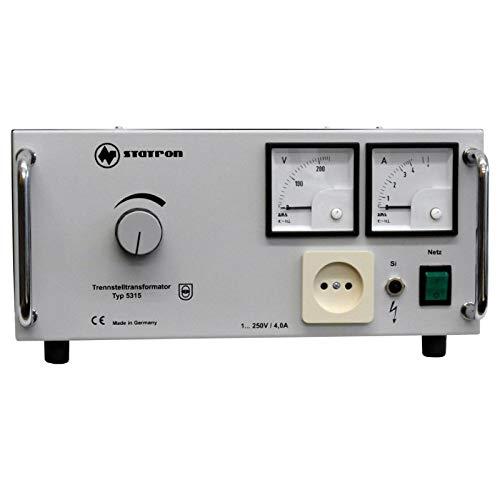 STATRON 5315.5 Regeltrenntransformator, 1.250V, 4A, 1000VA