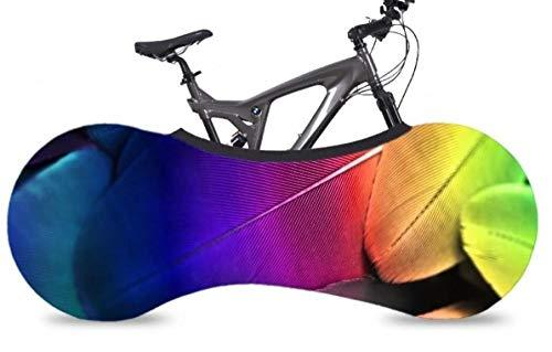 Funda para rueda de bicicleta, funda para bicicleta, funda para bicicleta, funda antipolvo, funda para bicicleta, funda antipolvo, funda elástica para bicicleta, funda de bicicleta, funda antipolvo, funda elástica para bicicleta con pluma de Zoom G