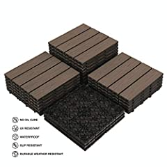 【COMPREHENSIVE USAGE】PANDAHOME offers quality composite products to enhance your living experience. Genuine wood-plastic composite finish, greater for indoor & outdoor application than natural wood. It is easier to refresh your patio, covered patio, ...