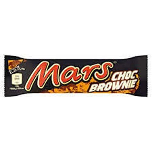 Mars Brownie Riegel schokoladige Candy-Creme mit Karamell umhüllt 51g