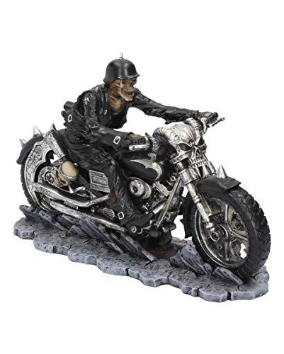 Horror-Shop Skelett Biker Figur - Hell on The Highway
