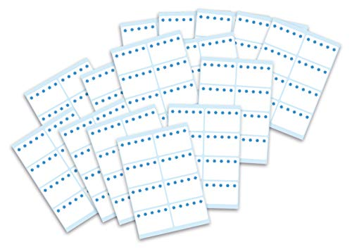 HERMA 15549 Gefrieretiketten Set bis zu -30°C, weiß, 40 x 26 mm, selbstklebende Tiefkühletiketten zum Beschriften für Büro, Küche, Haushalt und Marmelade, 120 kleine Haushaltetiketten