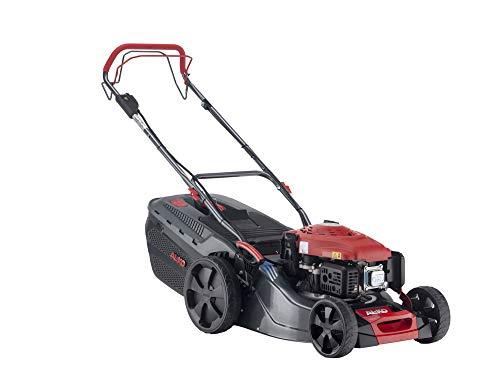 AL-KO Benzin-Rasenmäher Comfort 46.0 SPI-A (46 cm Schnittbreite, 2.6 KW Motorleistung, Robustes Stahlblechgehäuse, Hinterradantrieb, Mulchfunktion, Elektrostart, für Rasenflächen bis 1400 m²)