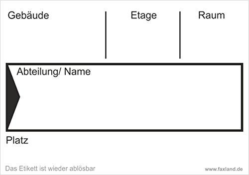 40x ablösbare Umzugetiketten Nr.4, 105x74, Beschriftung mit Etiketten vom Umzugskarton für den Umzug, Umzugsetiketten, Weiß thumbnail