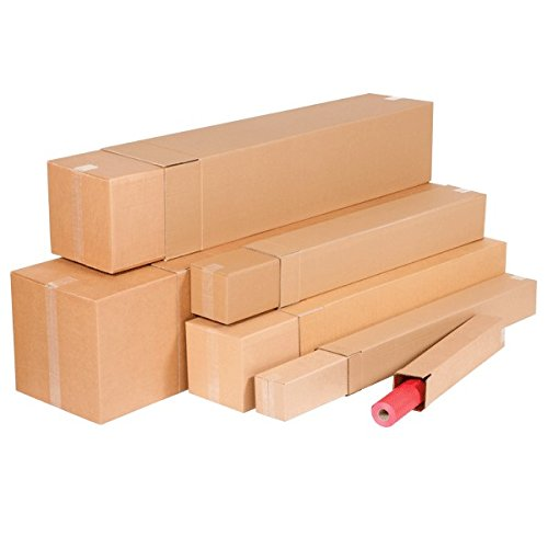 Propac z-boyt30a caja a Tubo y telescópicas, 30x 30x 100cm, lote de 15