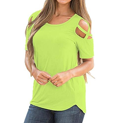 CUCUHAM Women Printed Crop Top Short Sleeve Tank Top T-Shirt Blouse(V1-Green,XXL) Black Crinkle Tank Top