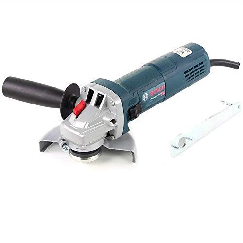 Bosch Professional Winkelschleifer GWS 9-125 S (900 Watt, Scheibendurchmesser 125 mm, inkl. Zusatzhandgriff, Schutzhaube, Schraubenschlüssel, im Karton)