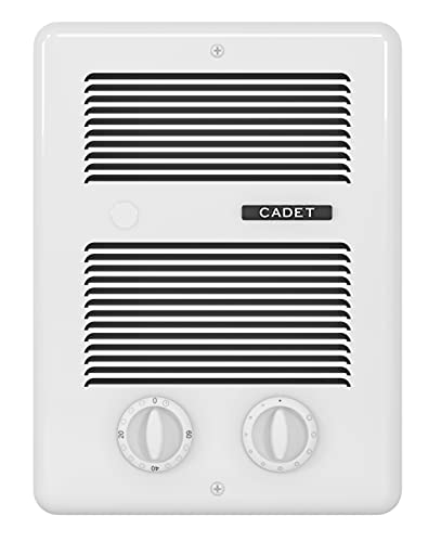 Cadet 65101 Heater Assembly/Wall CAN/Grill/STAT/Timer, Regular, White