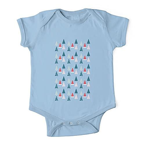 HABAH Body de bebé de una pieza para bebé de Navidad Wonderland