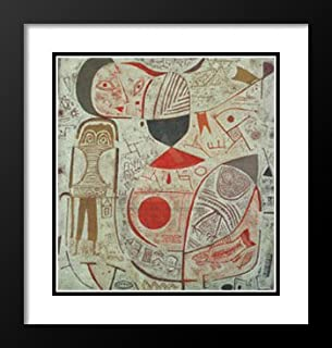 Paul Klee Framed and Double Matted Art Print 23x20