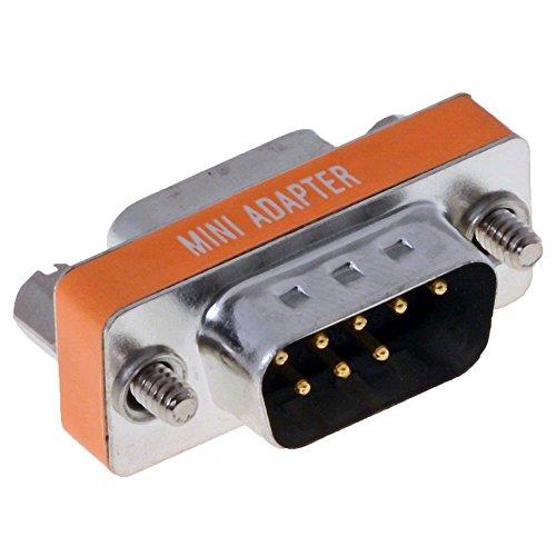DELOCK Adapter Sub-D 9Pin St/Bu Nullmodem