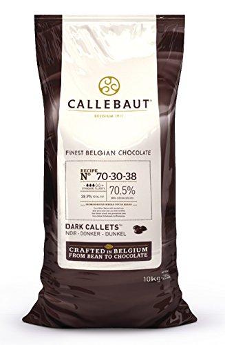 Callebaut 70% dunkle Schokolade -Chips (callets) 10kg